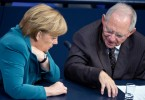 Schauble e Merkel