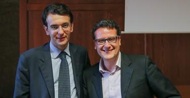 Alessandro De Salvo (Rete MMT) e Alfredo D'Attorre (PD)