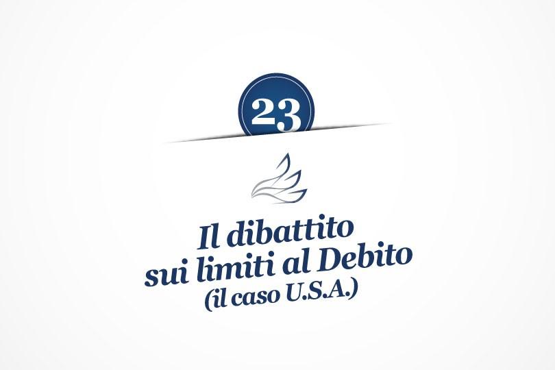 MMP Blog #23: Il dibattito sui limiti al debito (il caso USA)