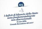 MMP Blog #5: I deficit di bilancio dello Stato sono fondamentalmente non discrezionali: il caso della Grande Recessione del 2007