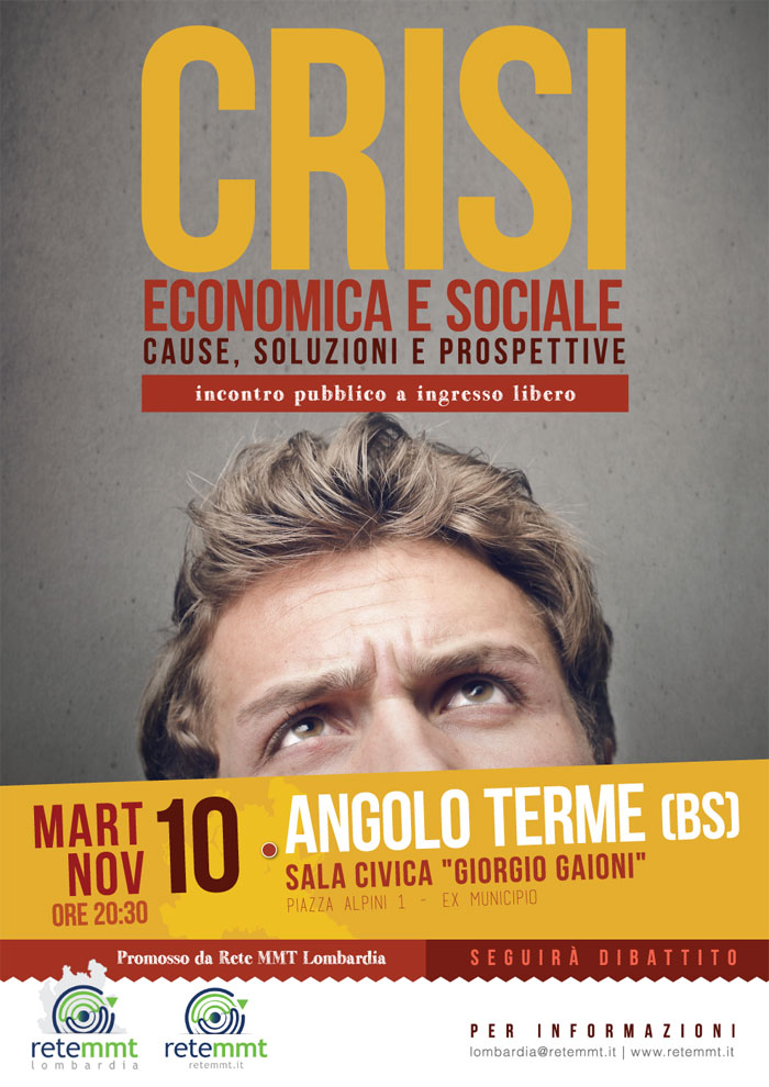 Crisi economica e sociale – 10 nov 2015 @ Angolo Terme