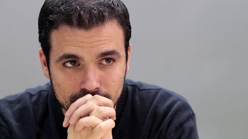 Alberto Garzón, candidato alle elezioni spagnole per Izquierda Unida