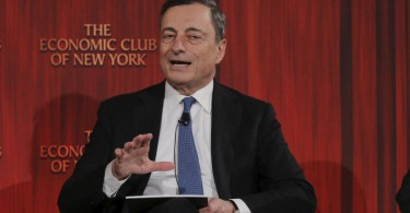 Mario Draghi all'Economic Club di New York