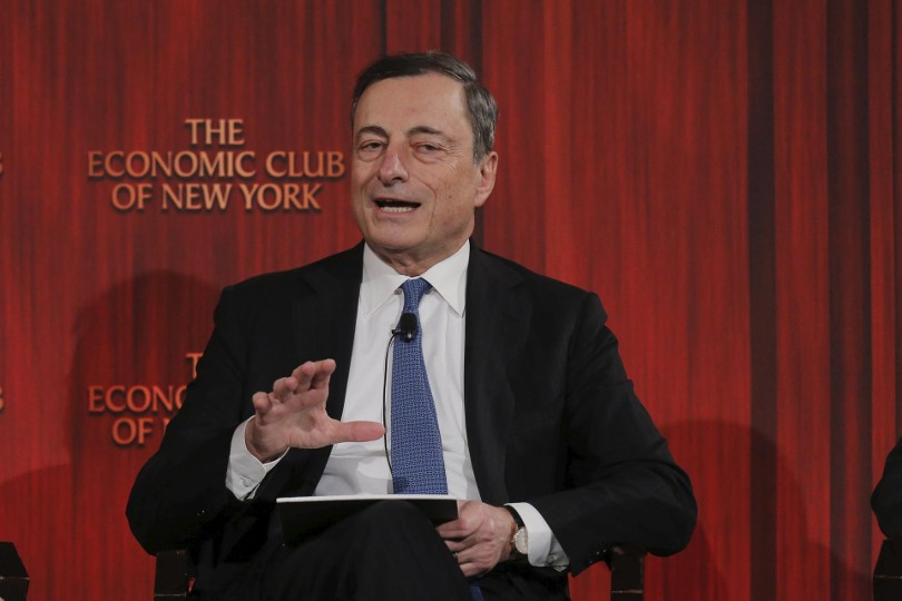 Mario Draghi all'Economic Club di New York