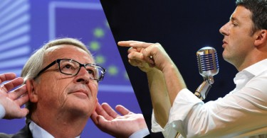 Renzi vs Juncker- qual è il vero terreno dello scontro