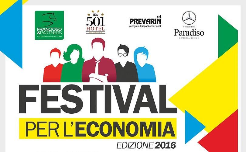 Festival per l'Economia: Vibo Valentia, 14-15-16 aprile
