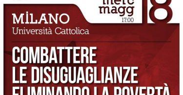 """""""Combattere le disuguaglianze combattendo la povertà"""", 18 Maggio a Milano"""