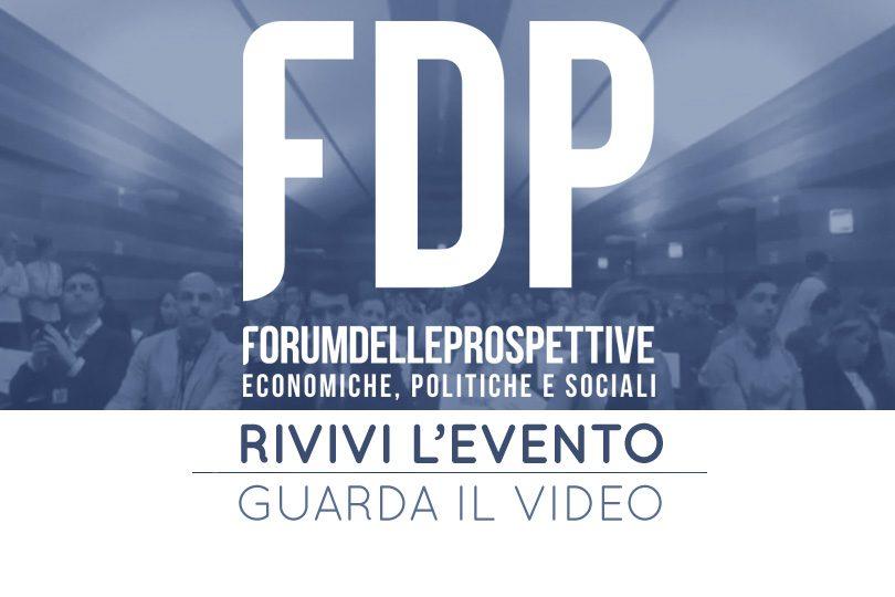I video degli interventi al Forum delle Prospettive