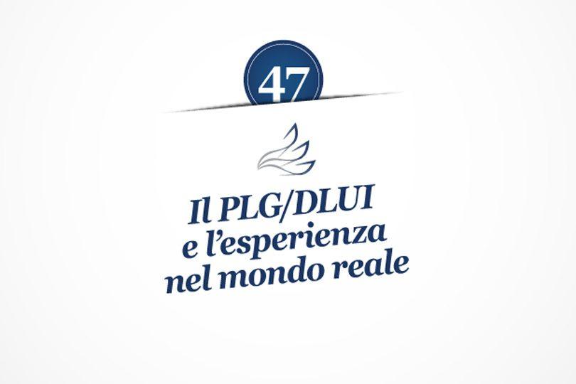 MMP Blog #47: Il PLG/DLUI e l'esperienza nel mondo reale
