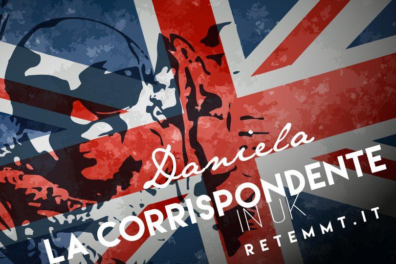 Daniela Corda corrispondente UK