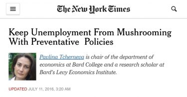 Frenare la proliferazione della disoccupazione con politiche preventive