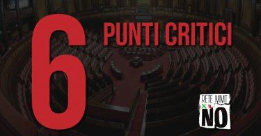 6 punti critici della riforma costituzionale (con scheda)
