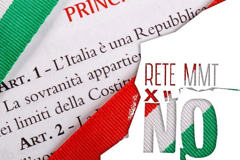 Verso il referendum. Lo speciale di Rete MMT