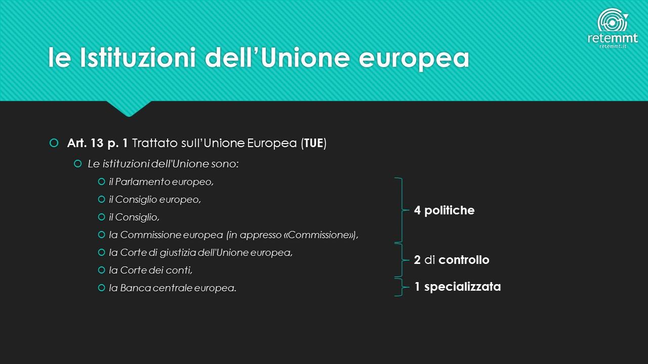 le-istituzioni-dellunione-europea