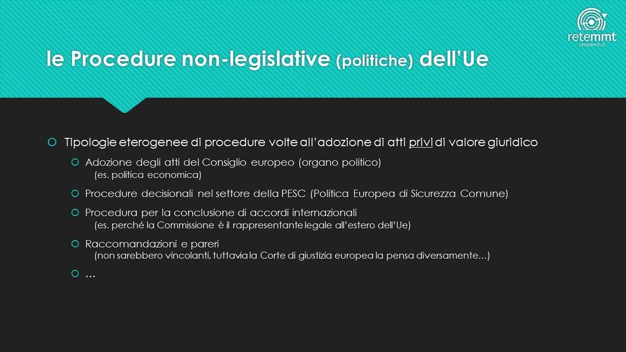 le-procedure-non-legislative-politiche-della-ue