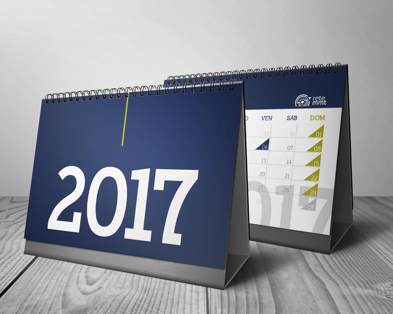 Stampa calendari online da tavolo tipografia pressart