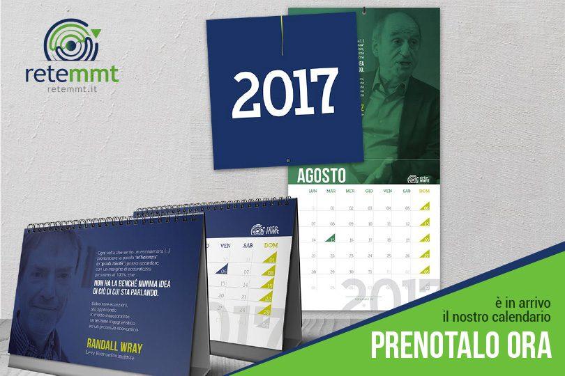 Sostienici e l'esclusivo calendario 2017 sarà tuo