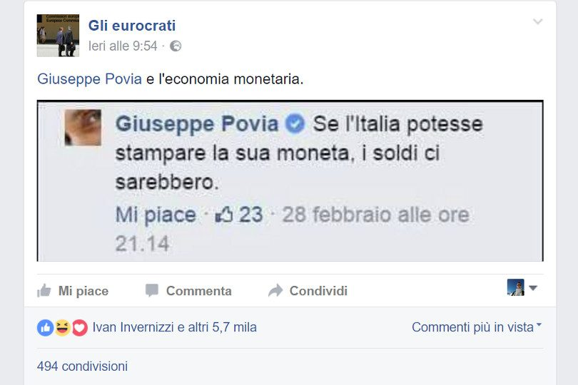 Risposta seria ad un post semiserio