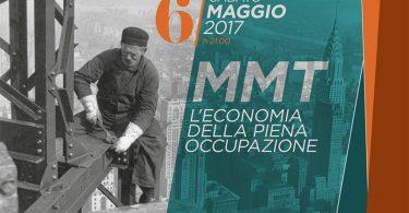 """""""MMT: l'economia della piena occupazione"""" sabato a Sirtori (LC)"""