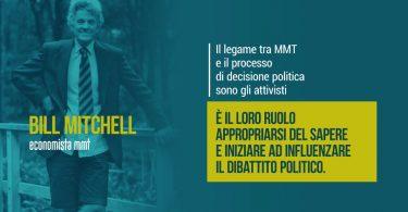 Bill Mitchell: essere attivisti MMT