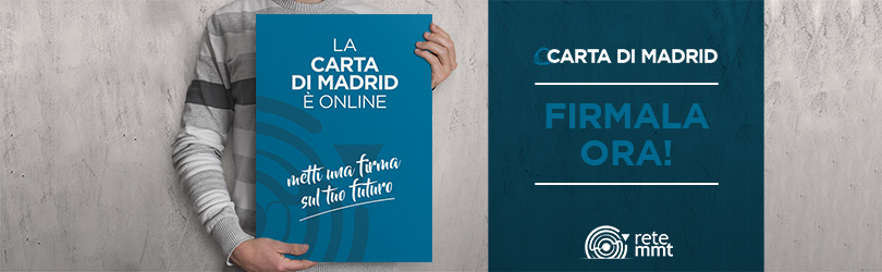 La Carta di Madrid è online. Firmala ora!
