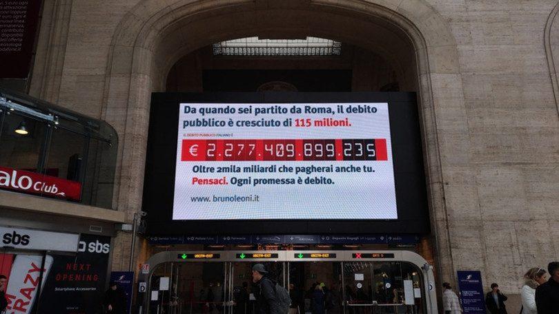 Terrorismo in stazione: arrivano i contatori del debito pubblico
