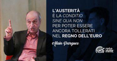 Alain Parguez sulla situazione italiana