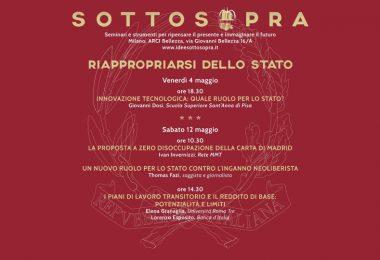 Riappropriarsi dello Stato: sabato 12 maggio a Milano