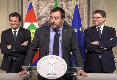 Salvini di oggi è incoerente con il Salvini di ieri? W Salvini!
