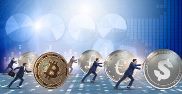 La criptovaluta e la competizione per la moneta