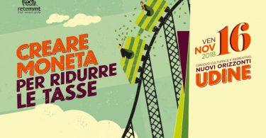 Lunedì 16 novembre a Udine si spiega la MMT
