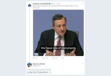 Indipendenza della BCE. Puoi anche urlare, ma nessuno ti ascolterà