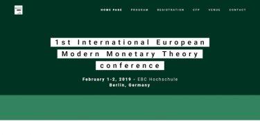 Rete MMT a Berlino per la conferenza europea MMT: 1-2 febbraio