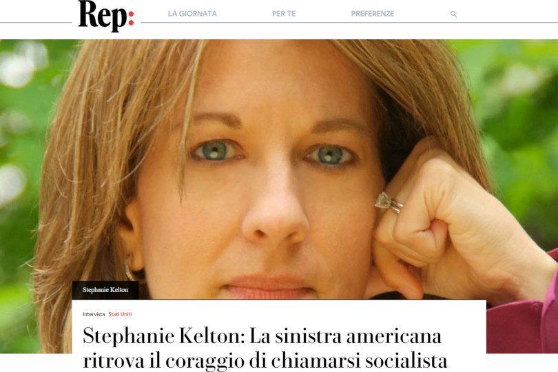 Stephanie Kelton: La sinistra americana ritrova il coraggio di chiamarsi socialista