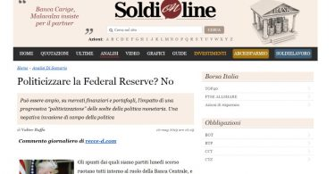 Politicizzare la Federal Reserve? No