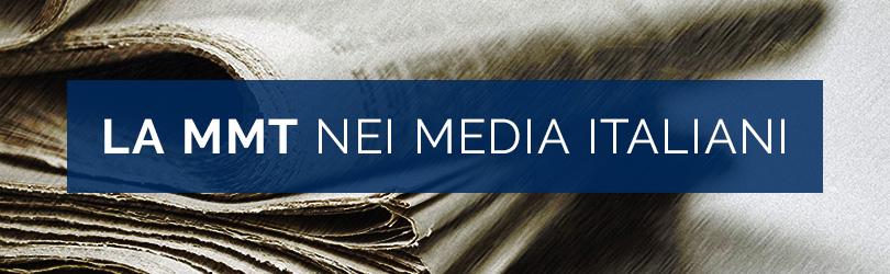 La MMT nei media italiani