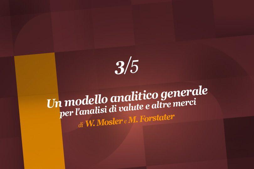 Un modello analitico generale per l'analisi di valute e altre merci (3ª parte)