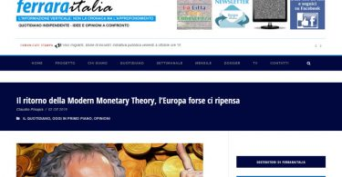 Il ritorno della Modern Monetary Theory, l'Europa forse ci ripensa