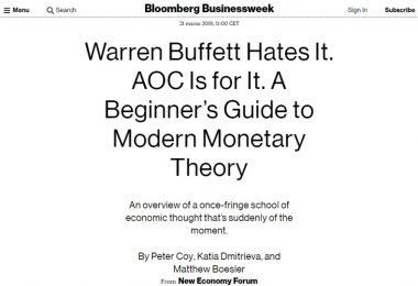Warren Buffett la odia. Alexandria Ocasio-Cortez la supporta. Una guida per principianti alla Teoria della Moneta Moderna
