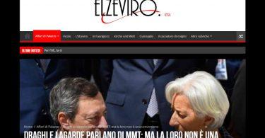 Draghi e Lagarde parlano di MMT: ma la loro non è una conversione