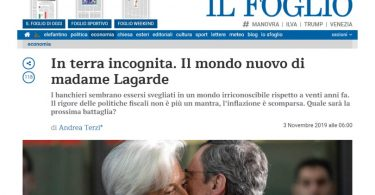 In terra incognita. Il mondo nuovo di madame Lagarde