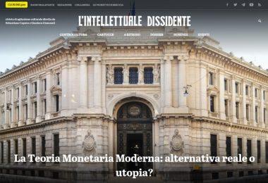 La Teoria Monetaria Moderna: alternativa tale o utopia?