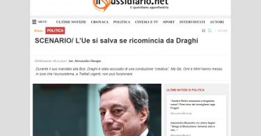 L'Ue si salva se ricomincia da Draghi