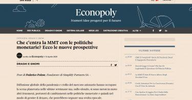 Che c'entra la MMT con le politiche monetarie? Ecco le nuove prospettive