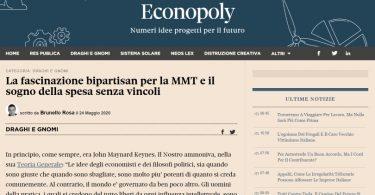 La fascinazione bipartisan per la MMT e il sogno della spesa senza vincoli
