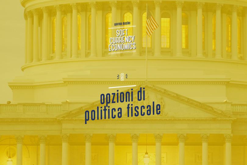 Opzioni di politica fiscale