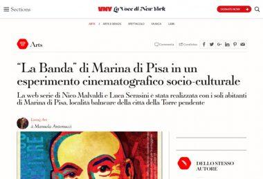 """""""La Banda"""" di Marina di Pisa in un esperimento cinematografico socio-culturale"""