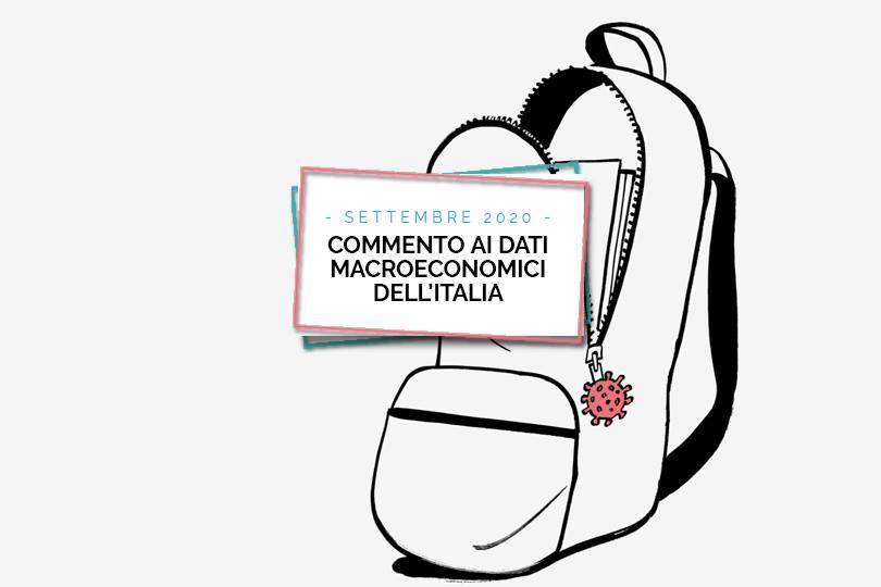 Commento ai dati macroeconomici dell'Italia - Settembre 2020