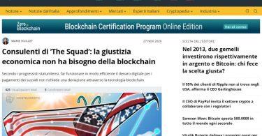 Consulenti di 'The Squad': la giustizia economica non ha bisogno della blockchain