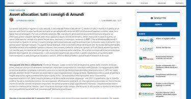 Asset allocation: tutti i consigli di Amundi